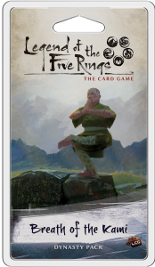 Legend of the Five Rings:  The Card Game -  Breath of the Kami Dynasty Pack